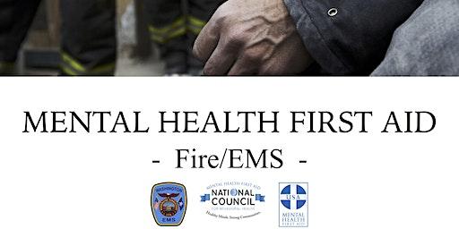Mental Health First Aid Certification (Fire/EMS) - Washington, CT