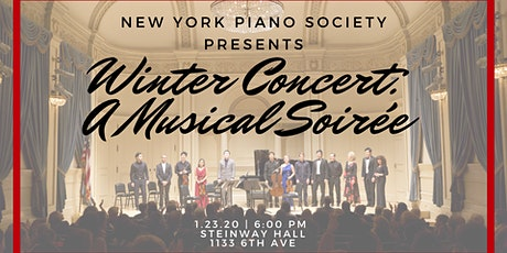 Winter Concert: A Musical Soirée at Steinway Hall tickets
