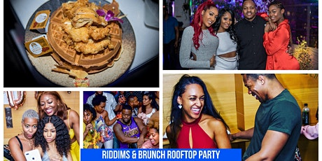 Riddims & Brunch Rooftop Party  tickets
