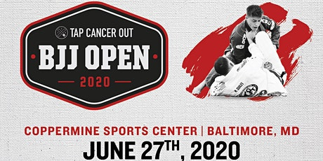 Tap Cancer Out 2020 Baltimore BJJ Open - Coach and Spectator Tickets tickets