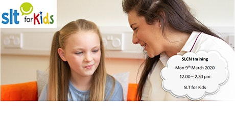 Children with Speech, Language And Communication Needs (SLCN) and the Role of Speech and Language Therapy (SALT) tickets