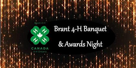 Brant 4-H Banquet tickets