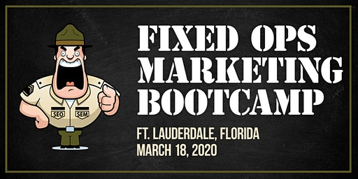 Automotive Marketing Bootcamp for Fixed Ops