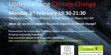 Understanding Climate Change tickets