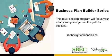 Business Plan Builder Series billets