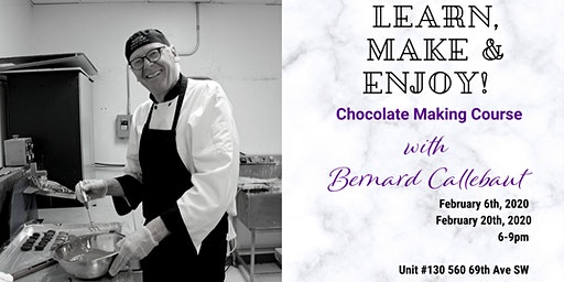 Signature Chocolate Making Course with Bernard Callebaut!