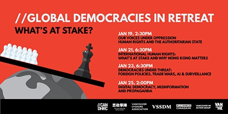 Global Democracies in Retreat, What's at Stake? tickets