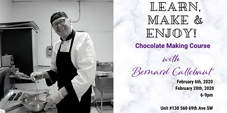 Signature Chocolate Making Course with Bernard Callebaut! tickets