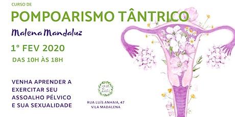 CURSO DE POMPOARISMO TÂNTRICO tickets