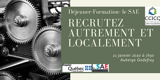 Recrutez autrement et localement - Déjeuner-Formation- le SAE