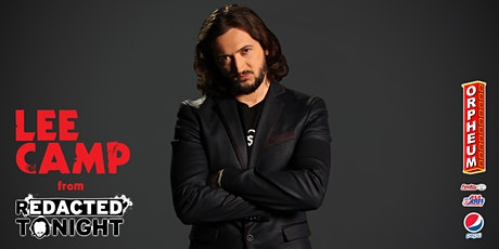 Redacted Tonight's Lee Camp - Live Stand Up Comedy & Book Release Event! tickets
