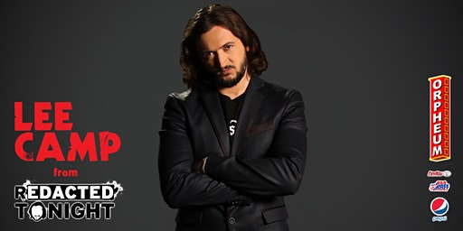 Redacted Tonight's Lee Camp - Live Stand Up Comedy & Book Release Event!