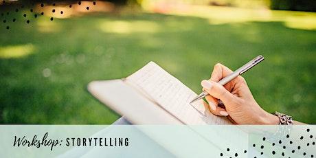 Rebelle Workshop - Storytelling tickets