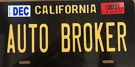 Gilroy Auto Broker School tickets