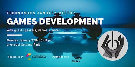 Tech Nomads January meetup: Games Development tickets