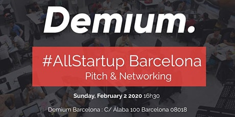 Pitch & Network #AllStartup Barcelona entradas
