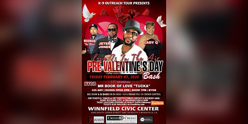 K-9 Outreach Presents: Love is in the Air, A Pre-Valentine's Day Bash