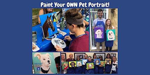 Paint Your OWN Pet Portrait - Cecil County Arts Council