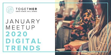 2020 Digital Trends with Denver Together Digital tickets