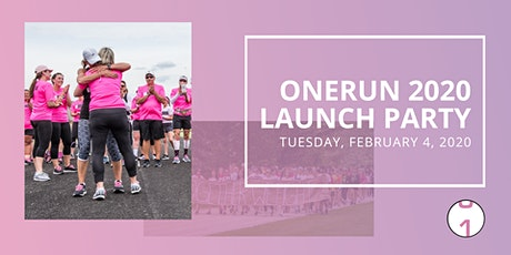 ONERUN Launch Party tickets