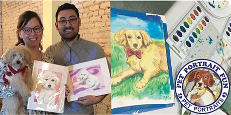 Paint Night Pet Portrait Fun at Cafe Bark NYC  tickets
