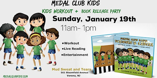Medal Club Kids Workout + Book Release Party