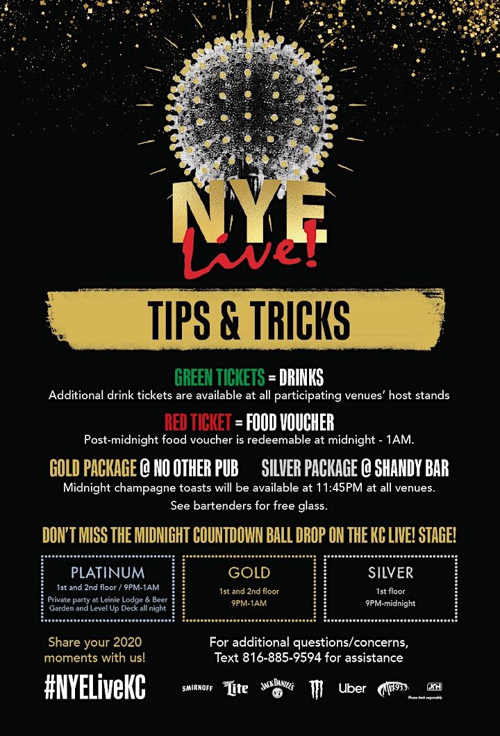 NYE Live! Kansas City's New Year's Eve Party image