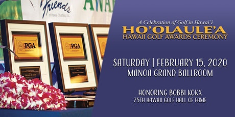 2020 Hawaii Golf Ho'olaule'a Awards Ceremony tickets
