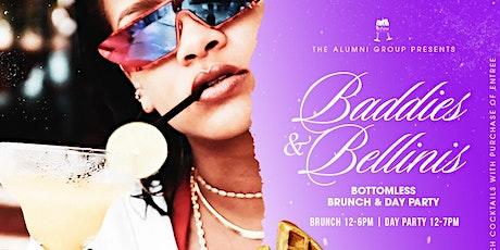Baddies & Bellinis - 1st Saturdays Bottomless Brunch & Day Party tickets