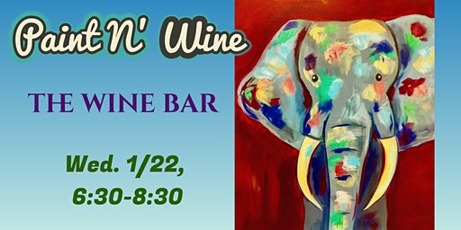 Paint N' Wine at The Wine Bar