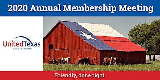2020 United Texas Credit Union Annual Membership Meeting