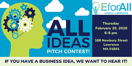 Lowell-Lawrence 2020 Winter All Ideas Pitch Contest tickets