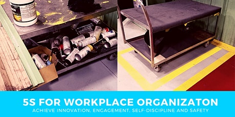 5S Workshop in Houston - 1 day for Workplace Organization tickets