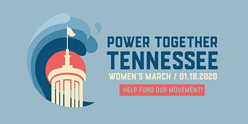 Women's March 2020 Power Together Tennessee