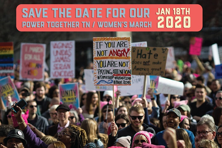 Women's March 2020 Power Together Tennessee image