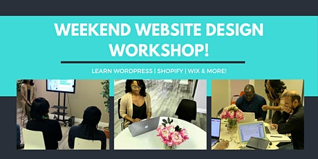 Weekend Website Design Workshop (3-Days) tickets