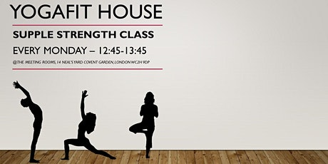 Supple Strength with YogaFit House tickets