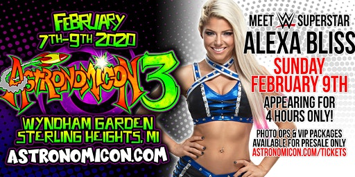 Astronomicon - WWE Superstar Alexa Bliss Experience