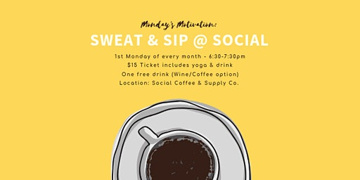 Sweat & Sip at Social Coffee