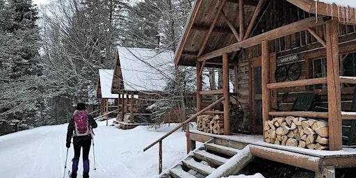 Maine Hut-to-Hut XC Ski/Snowshoe Trip