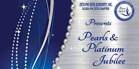 Zeta Phi Beta Pearls & Platinum Jubilee Scholarship Fundraiser tickets