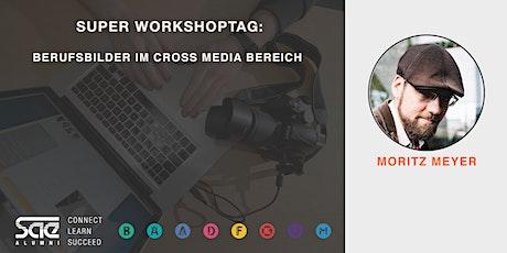 Cross Media - Super Workshoptag: Berufe im Vergleich mit Moritz Meyer Tickets
