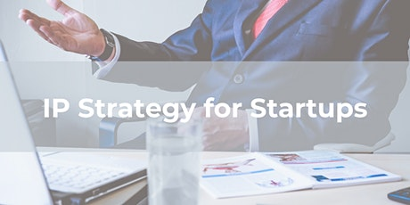 IP Strategy for Startups tickets