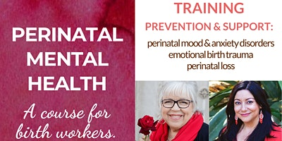 Perinatal Mental Health Course for Birth Workers