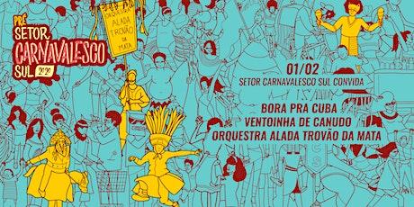 [PRÉ SCS CONVIDA] BORA PRA CUBA | ORQUESTRA ALADADA | VENTOINHA DE CANUDO ingressos