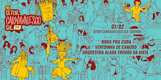 [PRÉ SCS CONVIDA] BORA PRA CUBA | ORQUESTRA ALADADA | VENTOINHA DE CANUDO