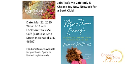 Tea Time: Book Club: More Than Enough by Elaine Welteroth
