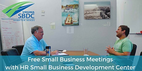 Free Small Business Meetings with SBDC - April tickets
