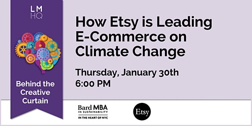 Behind the Creative Curtain: How Etsy is Leading E-Commerce on Climate Change