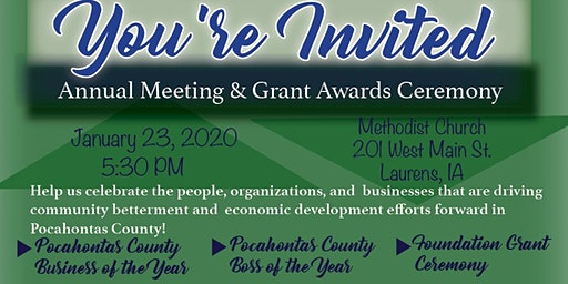 PCEDC Annual Meeting & Pocahontas County Foundation Grant Awards Ceremony